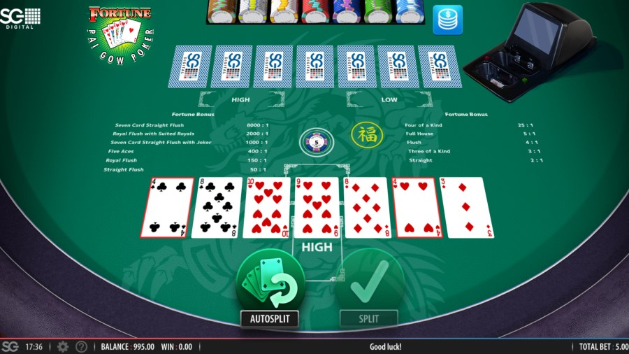 DomGames Pai Gow Poker